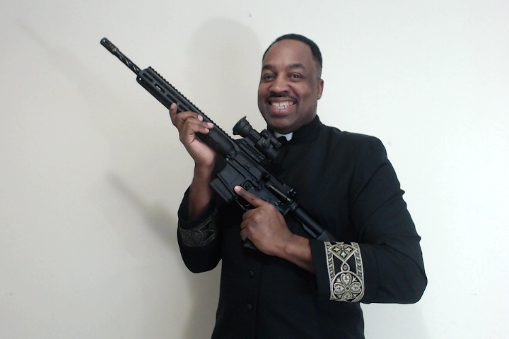 Why Does This Black Person Want An AR-15? - Black Man With A