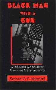 black Man with a gun first edition